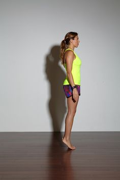 Calf Raises strengthen the tendons in your heels and calf muscles, which support your arch.To Do:Stand at the edge of a step, toes on step, heels hanging off. Lower your heels down...