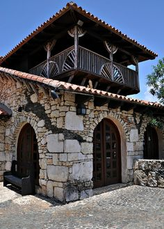 Altos de Chavon by Stella Blu.  MAgic Place!! What a priviledge to have lived there for 3 years!!! OMG I remember that for huracan George those doors WENT DOWN!! wao. Memories!!