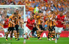 [Highlights] Arsenal 3 - 2 Hull [FA Cup] - 17/05