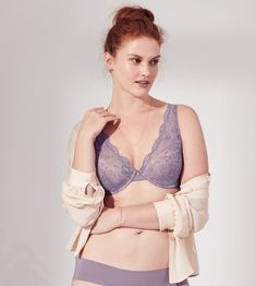 Sale Marks And Spencer Pink Underwired Padded Plunge With Modal Bra