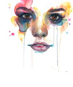 Hermosas ilustraciones con acuarelas de Marion Bolognesi