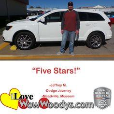 """""""Five Stars!""""  Jeffr"""