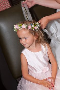 Flower girl flower crown by @Olga Moroz Allie