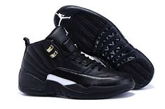 on sale 06230 549a8 Nike Air Jordan Retro 12 THE MASTER Youth BIG Kids G.S Black Rattan White  Metallic Gold