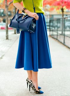 Those shoes…that skirt…love it all!