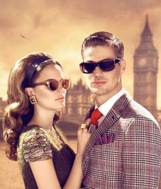 Cutler and Gross Fall 2013 Ad Campaign Cutler And Gross, Well Dressed Men, Luxury Lifestyle, Campaign, Glamour, Sunglasses, Couple Photos, Fall, Fashion Eyewear