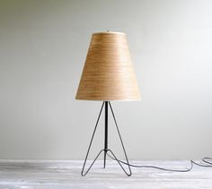 Vintage Hairpin Leg Mid Century Table Lamp by LittleDogVintage, $155.00