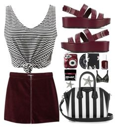 """❤"" by larifarii ❤ liked on Polyvore featuring MANGO, Tod's, Polaroid, Marc by Marc Jacobs, Essie, Givenchy and Hanky Panky"