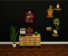 WOOD SHELVES Just a small share Found this really nice, rustic shelves and wanted to have it in game personally. Hope you like too Converted from sims 2 Mesh by Kate DOWNLOAD
