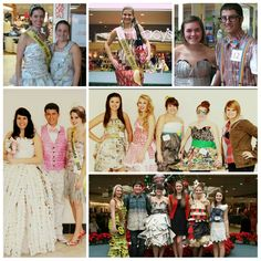 WV Recycles Fashion Show, past Brooke High School Entries