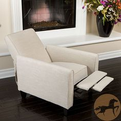 """recliner -- not so """"stuffed up."""" for a shabby chic living room(?). opinions and/or suggestions? my living room is small. i am going to slipcover a sofa -- i want to put two comfortable chairs with it. they need to be something you can watch tv and even sleep in. thanks! ~s"""