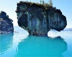 Hermosas cuevas de mármol en la Patagonia (Fotos) | Curiosidades