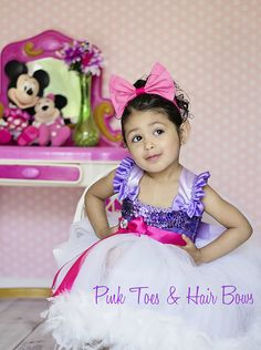Daisy Duck Couture Tutu Dress