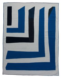 Fathers Sail Quilt by Maura Grace Ambrose of Folk FIbers