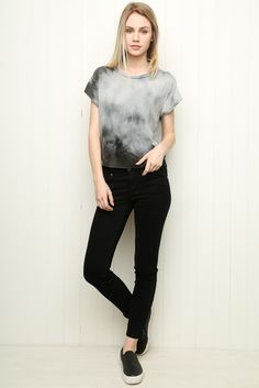 Brandy ♥ Melville | Elin Tie-Dye Top - Clothing                                                                                                                                                                                 More