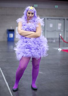 Lumpy Space Princess from Adventure Time  #Portland #cosplay #costume #Halloween