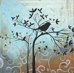 bird silhouette pic ... Wall Art
