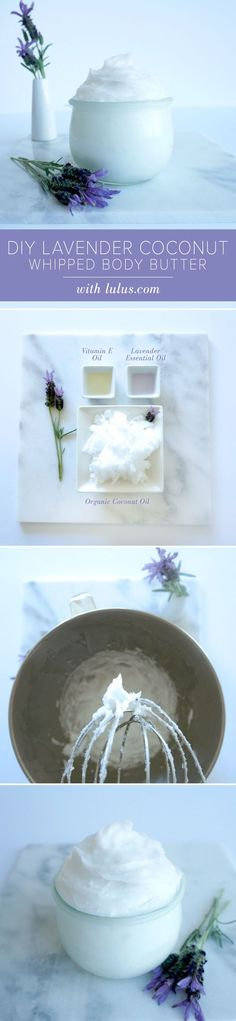 Lavender Coconut Whippedū Body Butter