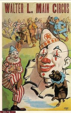 From the Why-I-Fear-Clowns series