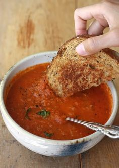 Homemade Tomato Basil Soup Ingredients: 5t olive oil 1C diced onions 1C diced celery 1C diced carrots 3t crushed garlic a few pieces of chopped basil 1t cinnamon 1t onion powder salt and pepper to taste 3C vegetable stock 3t tomato paste 1 can sun dried tomatoes 3 cans whole tomatoes Directions: In a med pot heat 4-5t olive oil. After 5 min add onions, celery, garlic & carrots. Sauté 10 min on med-high. Add spices, veg stock, tomato paste, sun-dried tomatoes & whole tomatoes. Simmer 45-60…
