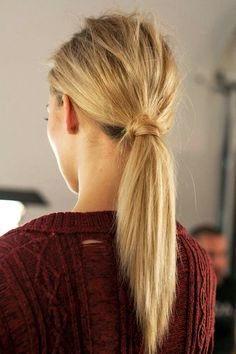 9 inspiring wrapped ponytails #hair #hairstyle #ponytail #blonde #updo