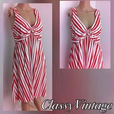 Darling red & White Patagonia sundress Peppermint stuck red and white sundress. Tag size large . Gently worn. No rips tears or stains. No pilling Patagonia Dresses