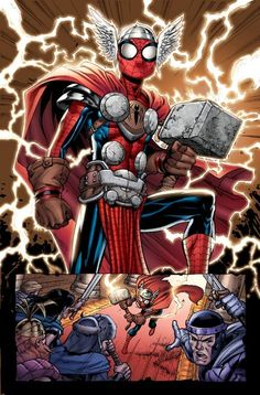 Peter Parker /Spider-Man (Thor) (Earth-20051)