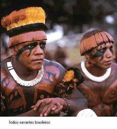 brazilian indian xingu region pintura corporal indigena - Google Search