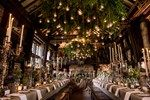 Spectacular floral arrangements of wildflowers, twigs and moss transformed the reception venue at this real wedding into an enchanted woodland, as seen on BridesMagazine.co.uk (BridesMagazine.co.uk)