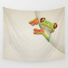 Buy Little Red Eyed Tree Frog Wall Tapestry by paulcapon. Worldwide shipping available at Society6.com. Just one of millions of high quality products available.