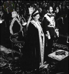King of Ethiopia - Haile Selassie I - Africa's last Emperor & Empress Menen