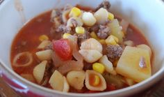 Hamburger Soup | Weight Watchers Recipes
