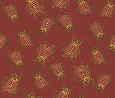 Waistcoat_Beetles_on_Maroon. fabric .. Not YET for sale, but add it to your favourites so you can check back to see when it goes live :-)