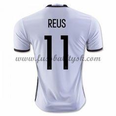 Günstige Fußballtrikots Deutschland Nationalmannschaft 2016 Reus 11 Heimtrikot Kurzarm
