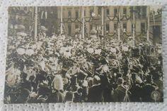 Foto Postkarte Feierlichkeiten zur Einholung der Kronprinzessin Berlin 1905
