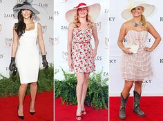 examples of Preakness inspired attire