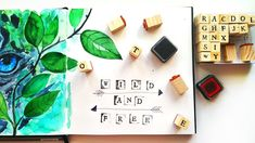How to Use Alphabet Rubber Stamps for Sketchbook Decorating - DIY Ideas Alphabet rubber stamps are great tool to decorating sketchbook, diy planner design, t. Asmr Video, Painting Tutorials, Watercolor Illustration, Being Used, Diy Ideas, Alphabet, Stamps, Make It Yourself, Decorating