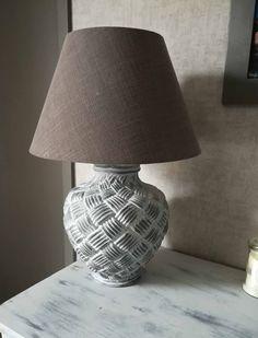 Lampe jarre relookée