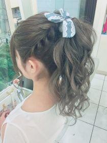 Kawaii Hairstyles, Curled Hairstyles, Pretty Hairstyles, Shot Hair Styles, Long Hair Styles, Hair Style Korea, Lolita Hair, Hair Ribbons, Hair Styler