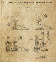 ludwig-drum-pedal-3-patent-art-1951-daniel-hagerman.jpg (817×900)