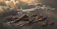Airships from John Carter of Mars