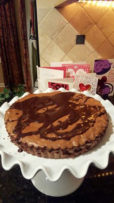 Dining with a Dinergirl: Chocolate Brownie Tart