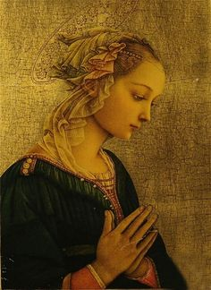 darksilenceinsuburbia:  Fra Filippo Lippi.Madonna delle Rocce.   In Wikipedia