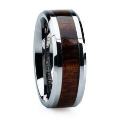 Hand Crafted Koa Wood Ring. #accessories #style #wood