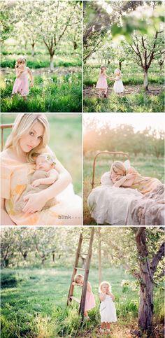 Beautiful new born family session