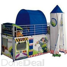 Disney Toy Story Buzz Lightyear Spaceship Toddler Bed ...