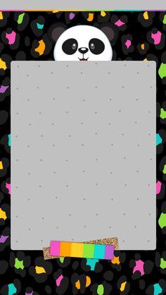 Colourful Wallpaper Iphone, Cute Panda Wallpaper, Animal Print Wallpaper, Rainbow Wallpaper, Bear Wallpaper, Hello Kitty Wallpaper, Mobile Wallpaper, Iphone Wallpaper, Panda Wallpapers