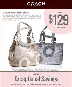 My first coach purse.silver one! Discount Coach Bags, Cheap Coach Bags, Fashion Outlet, Cheap Fashion, Coach Purses, Purses And Bags, Handbags Online Shopping, Michael Kors Satchel, Wholesale Bags