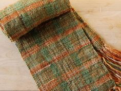 Schacht spindle cricket loom. Scarf. Weaving. Woven. Tartan. Project inspiration.