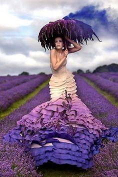 purple couture